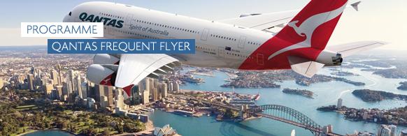 Carte Vol Qantas Australie.Qantas Frequent Flyer